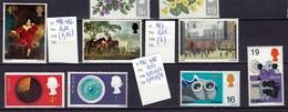 7 Timbres Neufs** N° 411 à 493 Et 495 à 498 - 1952-.... (Elizabeth II)