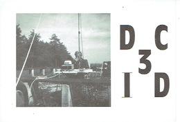 QSL - GERMANY - DC3ID - VOLKMAR RIES - NIKLASHAUSEN -  1974 - Radio Amatoriale