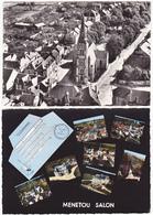 Lot De 2 CPSM Grand Format De MENETOU SALON (18) - Autres Communes