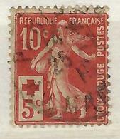 FRANCE  1914:   Le Y&T 147 Oblitéré CAD ,   B à TB - Autres