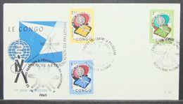 Congo - FDC 1962 Malaria - Malattie