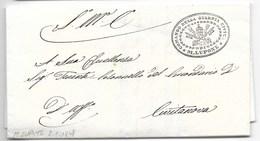 MOTI 1848 - DA MONTELUPONE A CIVITANOVA - 2.11.1848 - RARA. - Italia