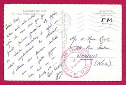 Carte Postale De La Poste Aux Armées Datée De 1960 - Secteur Postal 87 178 - Marcophilie (Lettres)