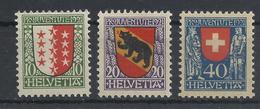 Schweiz 172/174 * - Nuovi