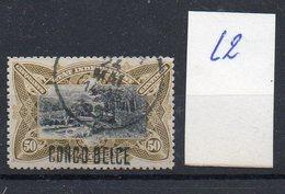 CONGO - MOLS - 50c COB 35L - LOCALE  L2 - Obl  - KX4 - Congo Belge