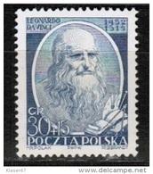 PL 1952 MI 744 - Unused Stamps