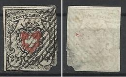 SUISSE N° 12 DE 1850 FAUX - 1843-1852 Kantonalmarken Und Bundesmarken