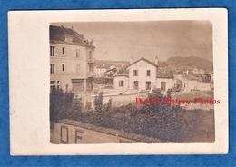 CPA Photo - COMMERCY ? - Café De La Woëvre à Gauche - Gare / Parc Du Génie / Camion - Voir Zoom - WW1 1914 1918 - France