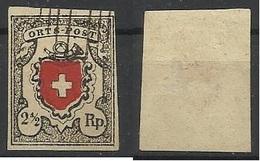 SUISSE N° 13 DE 1850 FAUX - 1843-1852 Timbres Cantonaux Et  Fédéraux
