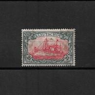 "Kiautschou  1914   -  2 1/2  Dollars  "" SMS Hohenzollern - Unused - Voir Scans - Colony: Kiauchau"
