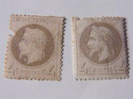 Napoleon  No 27 - 1863-1870 Napoleon III With Laurels