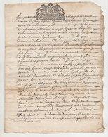 Loire Rhône Ecotay  Condrieu 1698 - Manuscripts