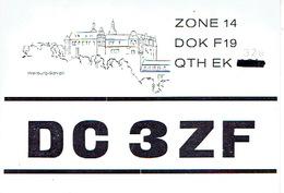 QSL - GERMANY - DC3ZF - RUDI KAPP - WEILBURG - 1973 - Radio Amateur