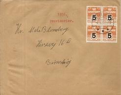 LETTRE DE 1955 . PROVISORIER - Affrancature Meccaniche Rosse (EMA)