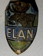 Plaque De Velo Elan - Altre Collezioni