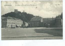 Poulseur  La Place Et La Tour Des 4 Fils Aymon - Comblain-au-Pont