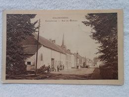 Cpa Huldenberg Kaasteelstraat Rue Du Château 1923 - Huldenberg