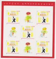"""FRANCE 2004 Feuillet N°75 Joyeux Anniversaire """"Maître D'Hôtel"""" Dessin De Sempé Neuf - Blocchi & Foglietti"""