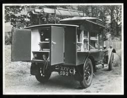 Original Photograph - Post Office Telephones - Utility Vehicle- C.1920s (20.5 X 16cm) - Photos