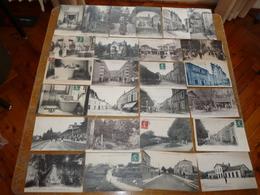 LOT 40 CARTES POSTALES ANCIENNES BOURBONNE LES BAINS HAUTE MARNE VOIR LES 2 PHOTOS - Bourbonne Les Bains