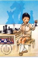 CHESS MAXIMUM POST CARD (GENN200609) - Scacchi