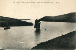 CPA - LANNION - LE YAUDET VERS SON EMBOUCHURE - Lannion