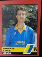 Figurina Calciatori D'Italia Vallardi 1989-90 1990 Tommaso Napoli Licata Numero 486 - Altri