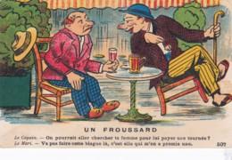 Humour - 507 - UN FROUSSARD - Le Copain ........ Le Mari ........ ((lot Pat 88) - Humor
