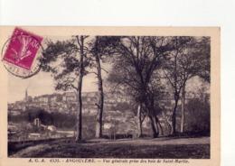 CPA - 16 - 23 -  ANGOULEME -  VUE GENERALE PRISE DES BOIS DE SAINT MARTIN  - N° 4535 - - Angouleme