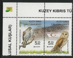 "CHIPRE TURCO /TURKISH CYPRUS /TÜRKISCH ZYPERN  -EUROPA 2019 -NATIONAL BIRDS.-""AVES -BIRDS -VÖGEL -OISEAUX""-SERIE CH - 2019"