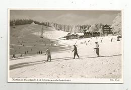 Cp, Allemagne , Kurhaus Hundseck  A.d. Schwarzwaldhochstrasse , Vierge, Ski ,  Sports - Autres
