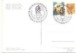 NAPOLI CASTEL DELL'OVO CAMPIONATO MONDIALE SCACCHI 19081  (GENN2006012) - Scacchi