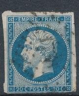 N°14 PANNEAU G.1. VARIETE MARQUEE AU VERSO. - 1853-1860 Napoleone III