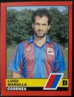 Figurina Calciatori D'Italia Vallardi 1989-90 1990 Gigi Marulla Cosenza Numero 465 - Altri