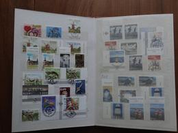 Collection De Timbres Des Iles Aland (Finlande) 1984 à 2005 En Générale 1 Neuf + 1 Oblitéré (2 De Chaque En Fin D'album) - Aland