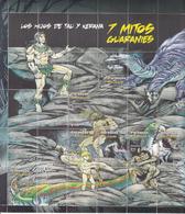 2012 Paraguay Myths And Legends GIANT  Souvenir Sheet   MNH (folded Once) - Paraguay