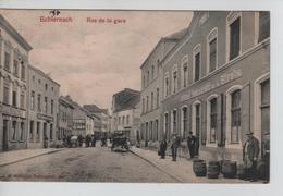 CBPNCPCF32/ Grand Duché Echternach Rue De La Gare Animée Charrettes - Echternach