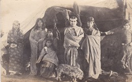 INDIOS EN RIO GALLEGOS. ARGENTINA POSTAL CPA CIRCA 1900's -LILHU - Argentina