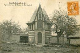 CPA - SAINT-PELLERIN - PIGEONNIER DU CHATEAU DE CORBUCHET (TRES RARE) - Autres Communes