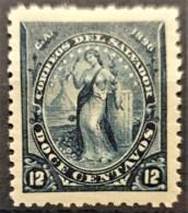 EL SALVADOR 1896 - MLH - Sc# 139 - 12c - Salvador