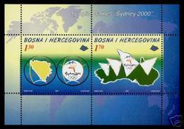 Olympics 2000 - History - BOSNIA HERCEGOWINA - S/S MNH - Summer 2000: Sydney