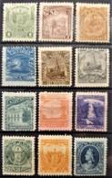 EL SALVADOR 1896 - MLH - Sc# 146-157 - Complete Set! - El Salvador