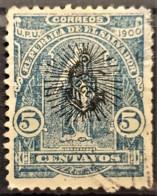 EL SALVADOR 1902 - Canceled - Sc# 282 - 5c - El Salvador