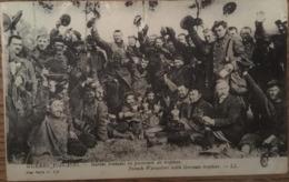 CPA MILITARIA - GUERRE 1914-1915 MARINS FRANCAIS EN POSSESSION DE TROPHEES, écrite En Novembre 1916 - War 1914-18
