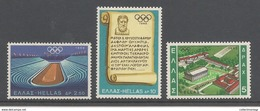 Greece - 1968 Olympic Games Of Mexico  MNH** - Zomer 1968: Mexico-City