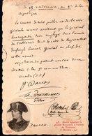 CPA  -  Arrété Appelant Le Général Bonaparte à L'armée De L'Intérieur - 5 Octobre 1795  -neuve  - - Storia