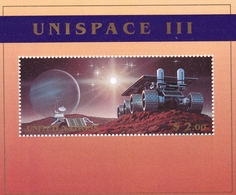 UNO-New York, 1999,  821 Block 16, MNH **, UNISPACE III - Blocks & Sheetlets