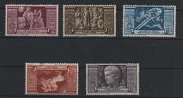 1937 Augusto P.a Serie Cpl MLH* - 1900-44 Vittorio Emanuele III