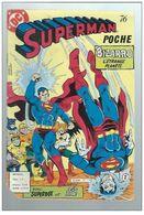 Superman Poche N°76 Un Monstre Est Lâché Sur Bizarro - Avec Superboy Et Lois Lane De 1983 - Superman