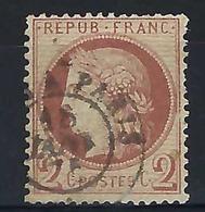 FRANCE  1872:   Le Y&T 51 Oblitéré GC ,   B à TB - 1871-1875 Cérès
